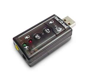 DYNAMODE USB-SOUND7 7.1-Channel USB Sound Card £3.50 @ Currys