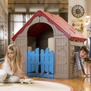 Keter Foldable Playhouse for £40 (£7.95 delivery) at Tesco Direct