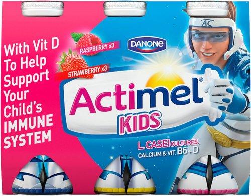 Actimel Kids Strawberry Yogurt Drinks (6 x 100g) was £2.00 now £1.00 @ Morrisons