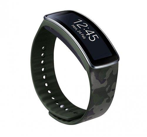 Samsung ET-SR350BGEGWW Standard Strap for Samsung Gear Fit - Camouflage (FREE DELIVERY) £6.99 @ Tesco