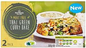 Morrisons 2 Thai Green Curry Bakes (280g) was £1.87 now £1.00 @ Morrisons