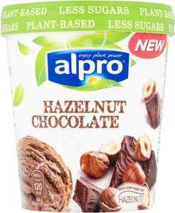 Alpro Hazelnut Chocolate Ice Cream (500ml) Free from Dairy and Gluten suitable for VEGANS was £3.50 now £2.00 @ Morrisons