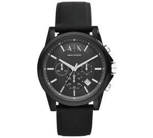 Armani Exchange AX1326 Black Chronograph Watch - £56.24 with code (RRP £89.99