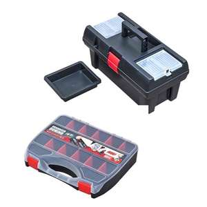 16 Profile Domino 32 Toolbox and Organiser £5.99 / £9.94 delivered at The Range