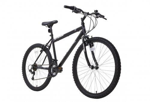 Terrain 26 inch Wheel Rigid Black Mens Mountain Bike - £80 (Was £160) - 50% OFF (+£7.95 del) - Tesco Direct