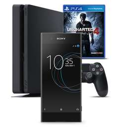 Sony XA1 + PS4 + Uncharted 4 from £18 pm with Virgin Mobile (24 x 18 = £432)