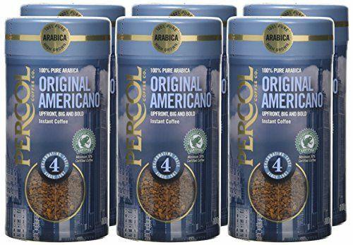 Percol Americano Instant Coffee 100 g (Pack of 6) £10.67 Amazon Prime or £14.66 non-Prime