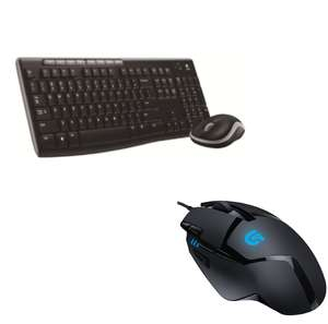 LOGITECH Combo MK270 Wireless Keyboard & Mouse Set £17.24 / LOGITECH G402 Hyperion Fury Mouse £22.49 @ Currys (Using codes / See OP / Ends Tonight)