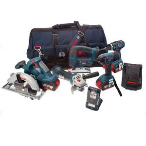 Bosch Professional 18 V Power Tool Kit and Bag - £519 @ Amazon