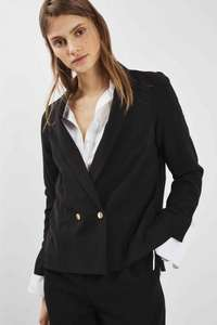 Topshop black blazer was £49 (free C&C) now £10
