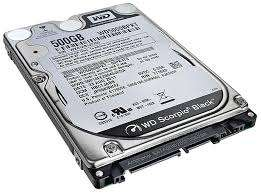 "500gb 2.5"" sata hard drive (used) at CEX for £20"