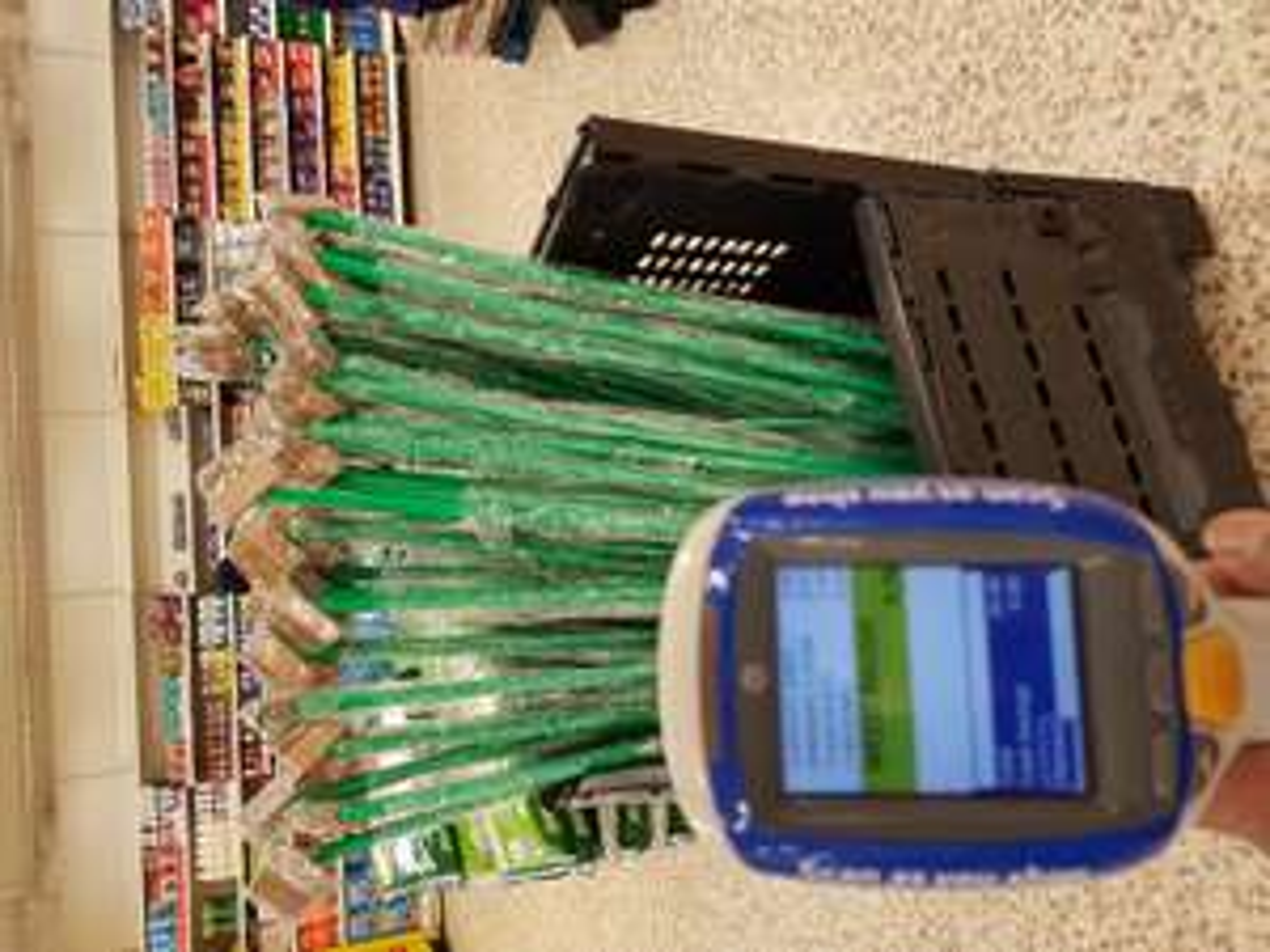 Tesco garden weed brush tool instore for 75p