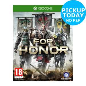 [XboxOne/PS4] For Honor - £14.99 - Argos (& Argos eBay Outlet Free C&C) - Amazon Price Matched