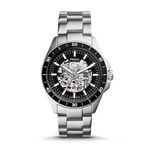 Men's Fossil Sport 54 Automatic SS watch. - £118.40 (With code) @ Fossil