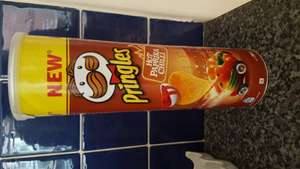 Pringles hot paprika chilli flavour £1 at poundland