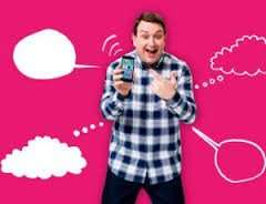 5gb 4G data - Unlimited minutes / texts - 30 days sim contract @ Plusnet Mobile £10 month
