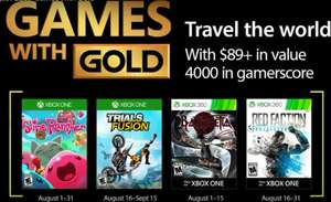 Xbox August Games with Gold