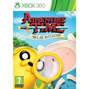 (Xbox360) Adventure Time: Finn and Jake Investigations £5 @ Smyths (In-Store Only)