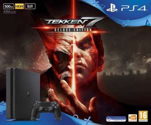 PlayStation 4 Slim 500GB and Tekken 7 Deluxe Edition £229.99 @ Game