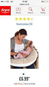 Clair de Lune Baby Feeding Pillow £6.99 @ Argos