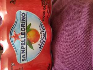 San Pellegrino 330ml. Was £4.40 now £3 at Sainsbury's