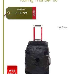 the north face rolling thunder at Gaynors for £139