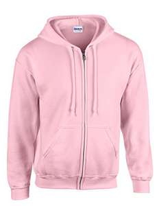 Gildan heavy blend zipped hoodie light pink L (GD58) £2.98 delivered - Dispatched from and sold by Bowls4u TA 4UTrading Group - Amazon