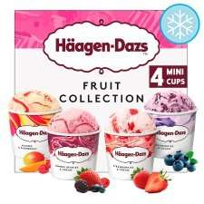 Haagen Dazs Caramel/fruit Ice Cream Minicups 4X100ml down to £2.50 @ Tesco