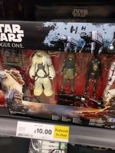 Star wars rogue one 4 pack set £10 Tesco instore