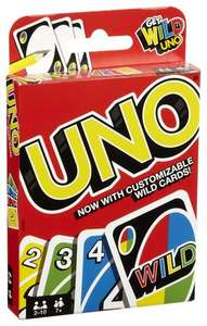 UNO plastic play cards £1 at Poundland