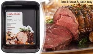 Black Morphy Richards Small Roast And Bake Tray £4.80@ BHS online