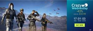 43% off Ghost Recon Wildlands Standard Edition PC Download £22.99 @ Ubisoft Store (24 Hours only) Receive additional 20% off if you use 100 Uplay points making it £18.39