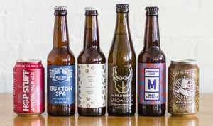 6 Craft Beers Delivered for £8 at honestbrew