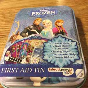 FROZEN First Aid Tin 79p instore at Home Bargains