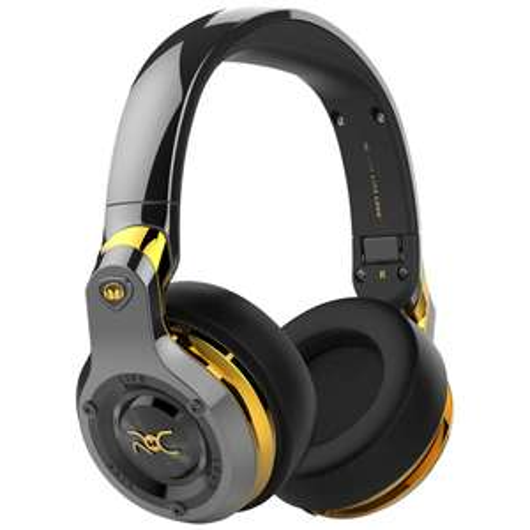 Monster ROC Sport Black Platinum Over-Ear Headphones With Built-In Mic, Total Noise Isolation & Carry Case, Black £179.95 John Lewis