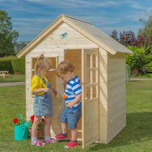 TP Wooden Playhouse was £150 now £99 @ Tesco Direct (+ £7.95 Del or Free if Delivery Saver))