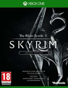 Skyrim Xbox one Preowned copy for £14.99 - GAME