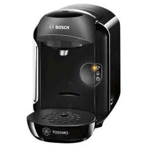 Bosch Tassimo Vivy Coffee Machine, TAS1252GB - Black £39.99 Tesco
