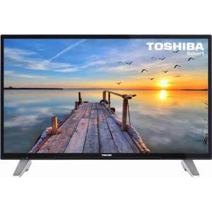 AO @ eBay: Toshiba 43L3653DB 43 Inch Smart LED 1080p Full HD Freeview HD TV - £269