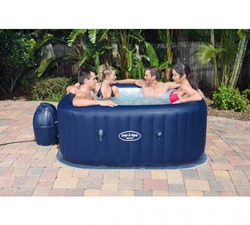Hawaii Square Air Jet Lay-Z-Spa Hot Tub - £399.99 + £6.95 del at Argos