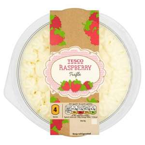 Tesco Raspberry Trifle 600G - £1.25 @ Tesco