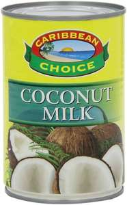 Caribbean Choice Coconut Milk 400 g (pack of 12) - £5.40 / Subscribe & Save - £5.13 (Amazon)