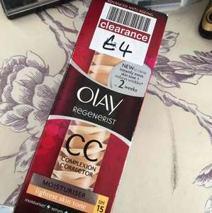 olay regeneratist cc cream for £4! normally £24.99 in boots
