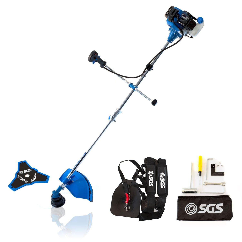 52cc Petrol Grass Strimmer / Brush Cutter / Trimmer - 2.2KW 3HP, Bosch Spark Plug - £69.98 @ SGS Engineering