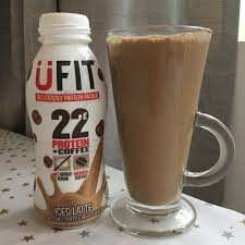 UFIT 310 ml Iced Latte High Protein Shake Drink - Pack of 8 £6.96 / Subscribe & Save - £6.61 (Amazon PRIME)