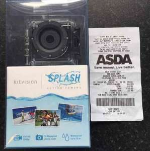 kitvision Splash 1080 Action Camera £4 @ Asda Morley