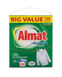 Almat Bio Washing Powder (6.5kg) ONLY £ 7.99 @ Aldi