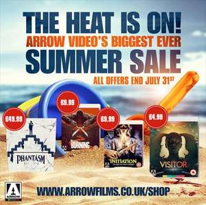Arrow Video Summer Sale