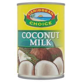 Caribbean Choice Coconut Milk (400ml) was 59p now 45p @ Asda