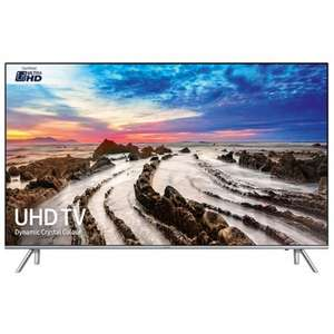 SAMSUNG UE49MU7000 4K HDR TV & FREE UBDK8500 Ultra HD Blu-ray player £1049 @ Richer Sounds